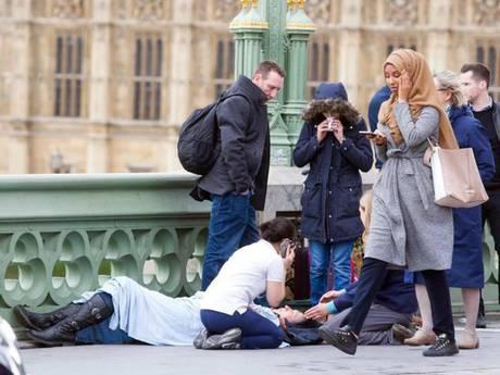 Muslim woman London terrorist attack