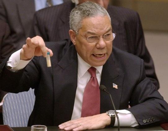 Colin Powell UN Iraq