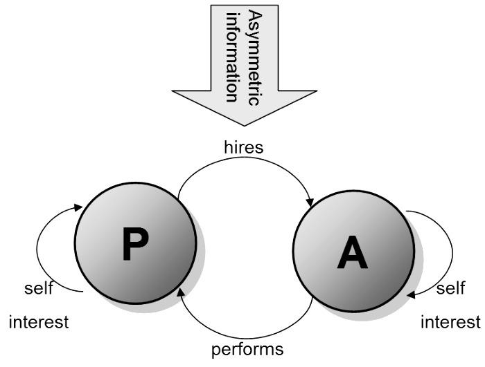 Grafico teoria dell'agenzia