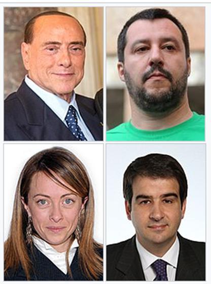 Leaders centro-destra